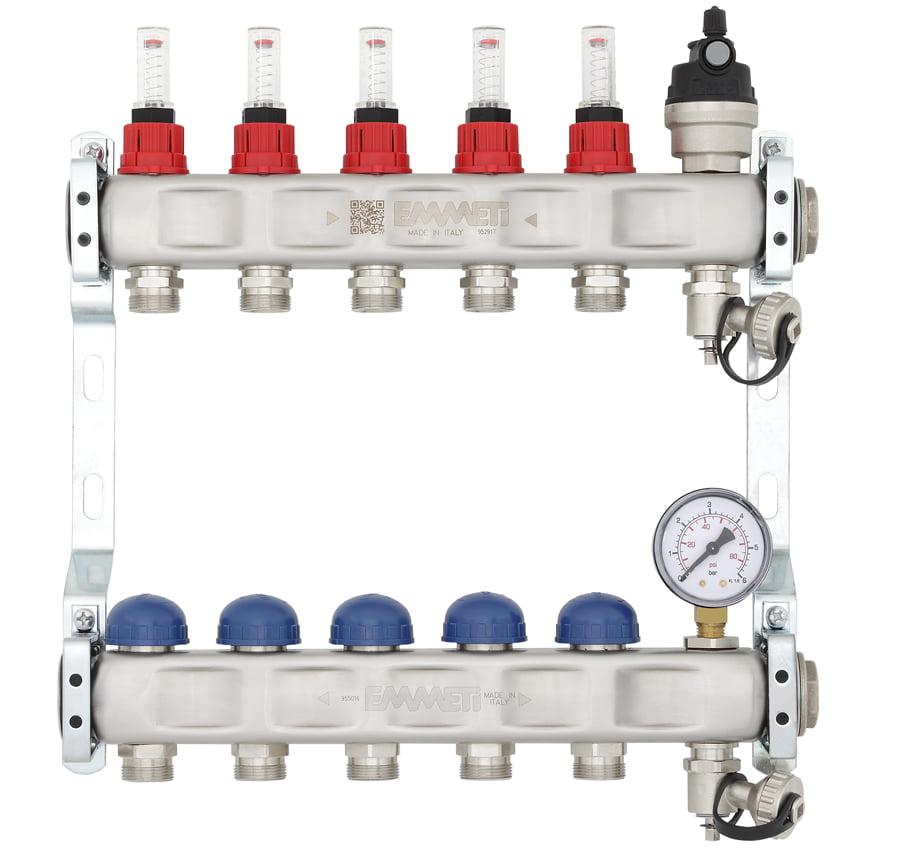 Emmeti Topway Plus Underfloor Heating Manifold